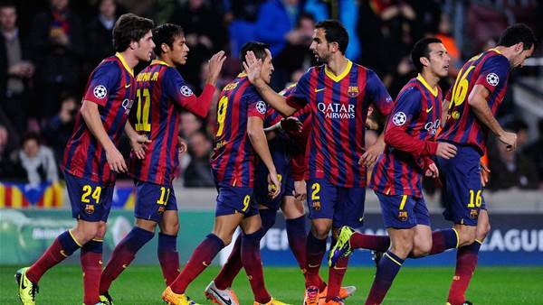 Neymar hat-trick in Barca's to 6-1 drubbing of Celtic