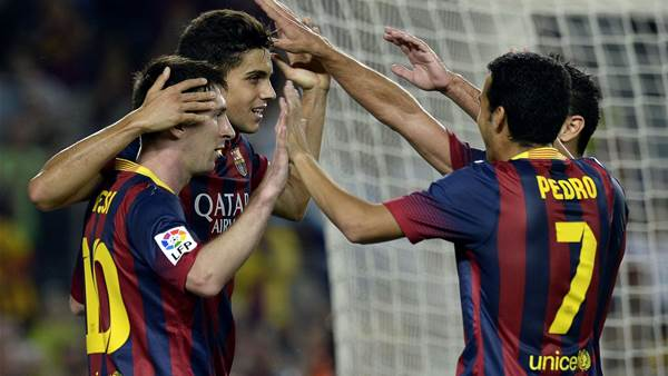 La Liga: Barca stretch unbeaten run