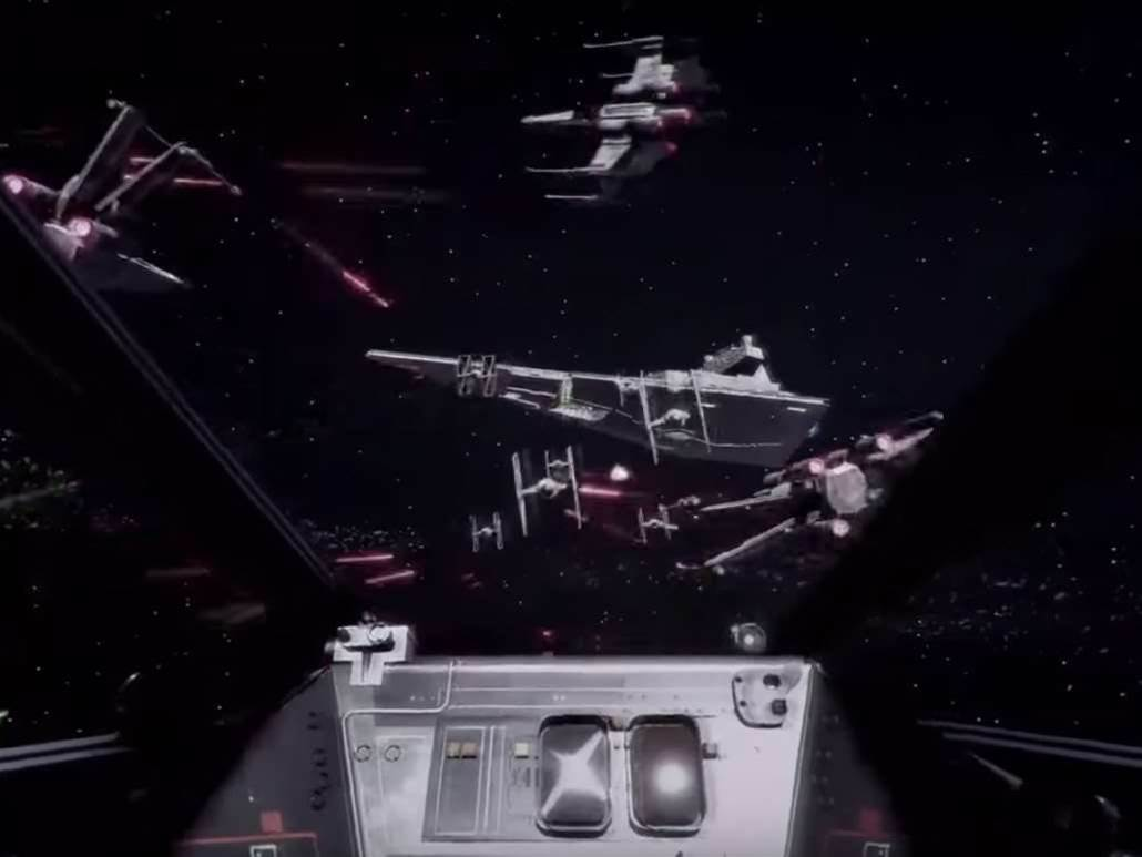 It's hype o'clock: new Star Wars Battlefront X-Wing virtual reality mission incoming