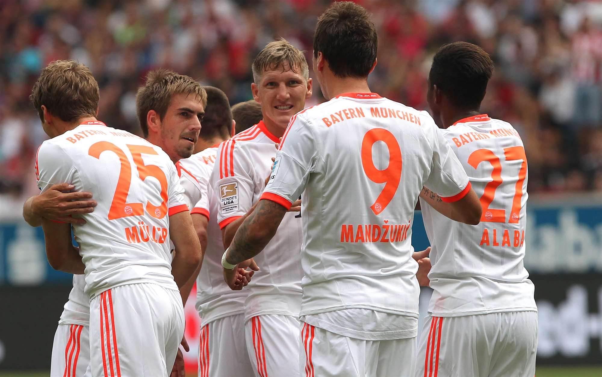 Bundesliga Wrap: Narrow Bayern win keeps Frankfurt bottom