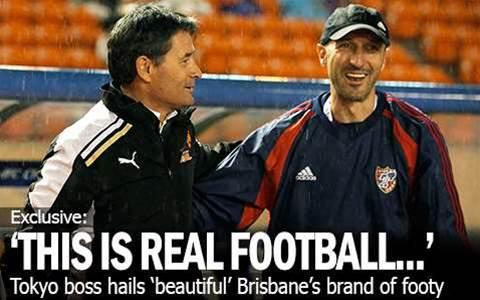 Tokyo Boss Hails 'Beautiful' Brisbane