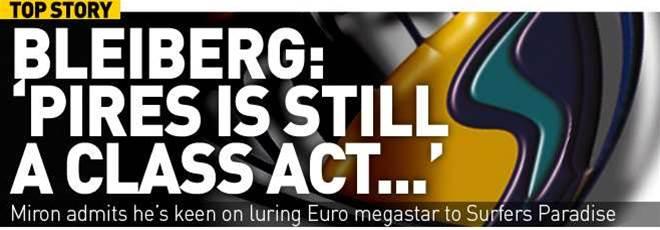 Bleiberg: 'Pires Is Still Class'
