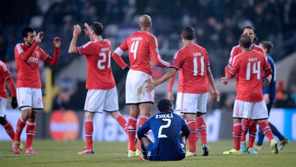 Late winner keeps Benfica in the hunt