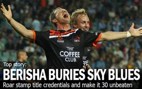 Berisha & Broich Bury Sky Blues