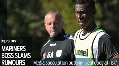 Mariners boss slams media speculation