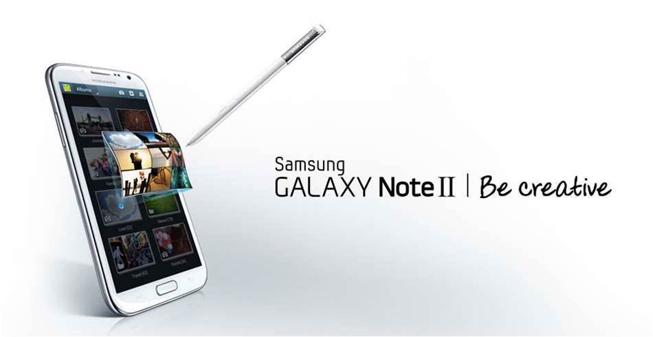 Samsung Galaxy Note II now on sale