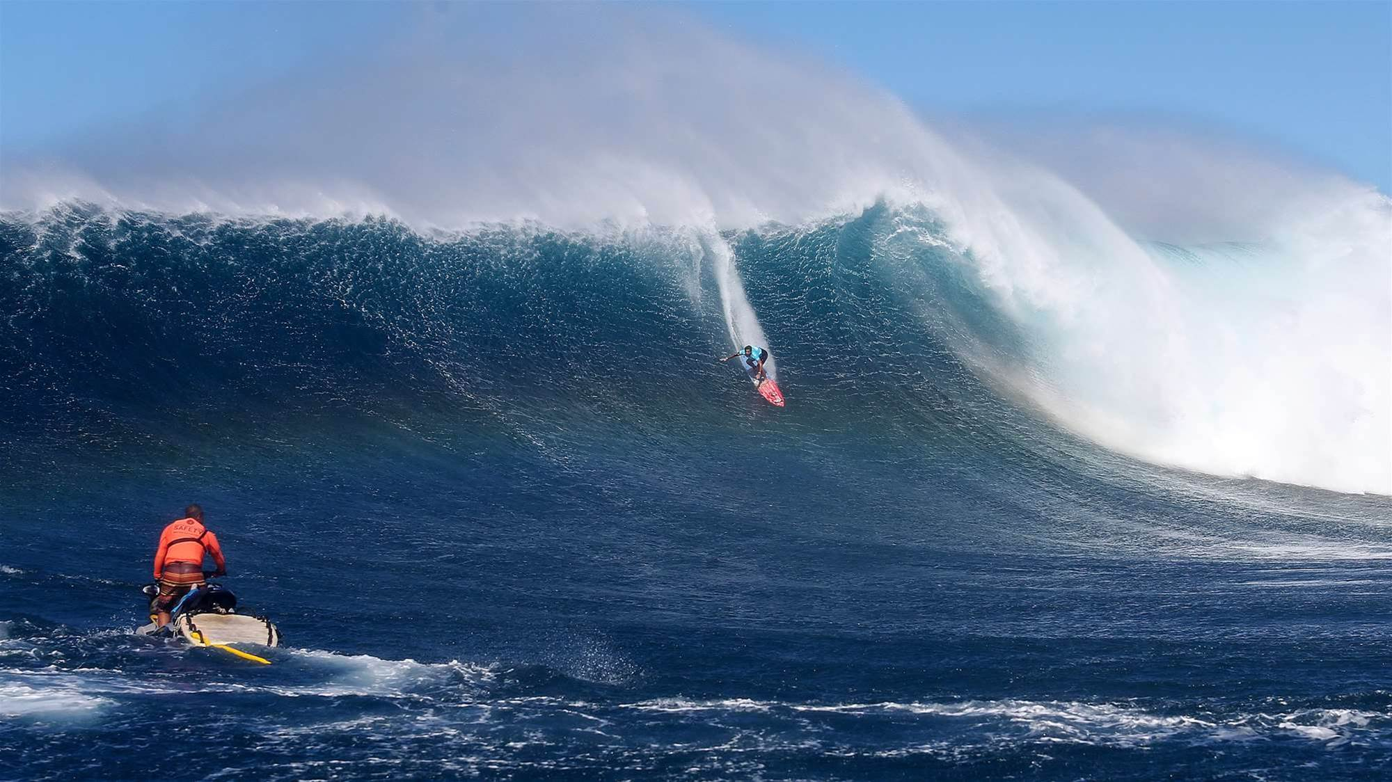 Peahi Goes (We Hope)
