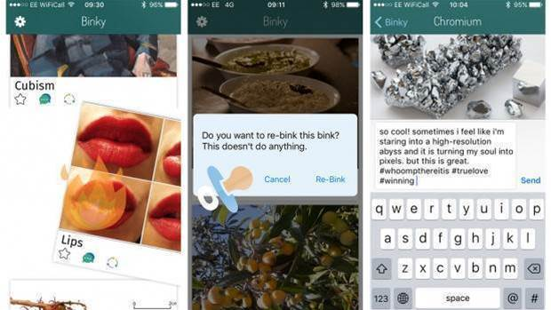 Say hello to Binky, the meaningless social media app