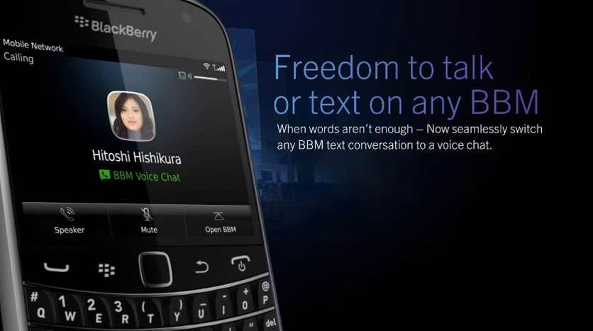 Blackberry users get free phone calls to BBM contacts