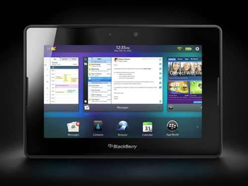 BlackBerry reveals 4G LTE PlayBook