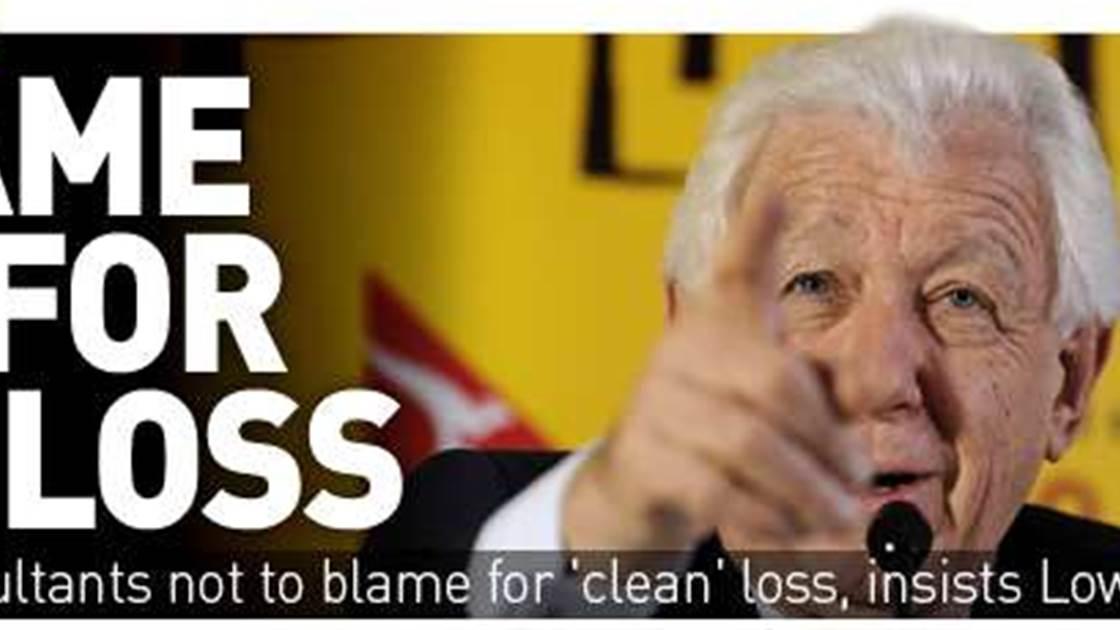Lowy: Blame Me For Bid Loss