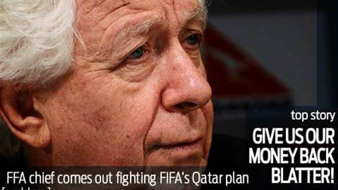 Lowy wants FIFA to repay World Cup cash