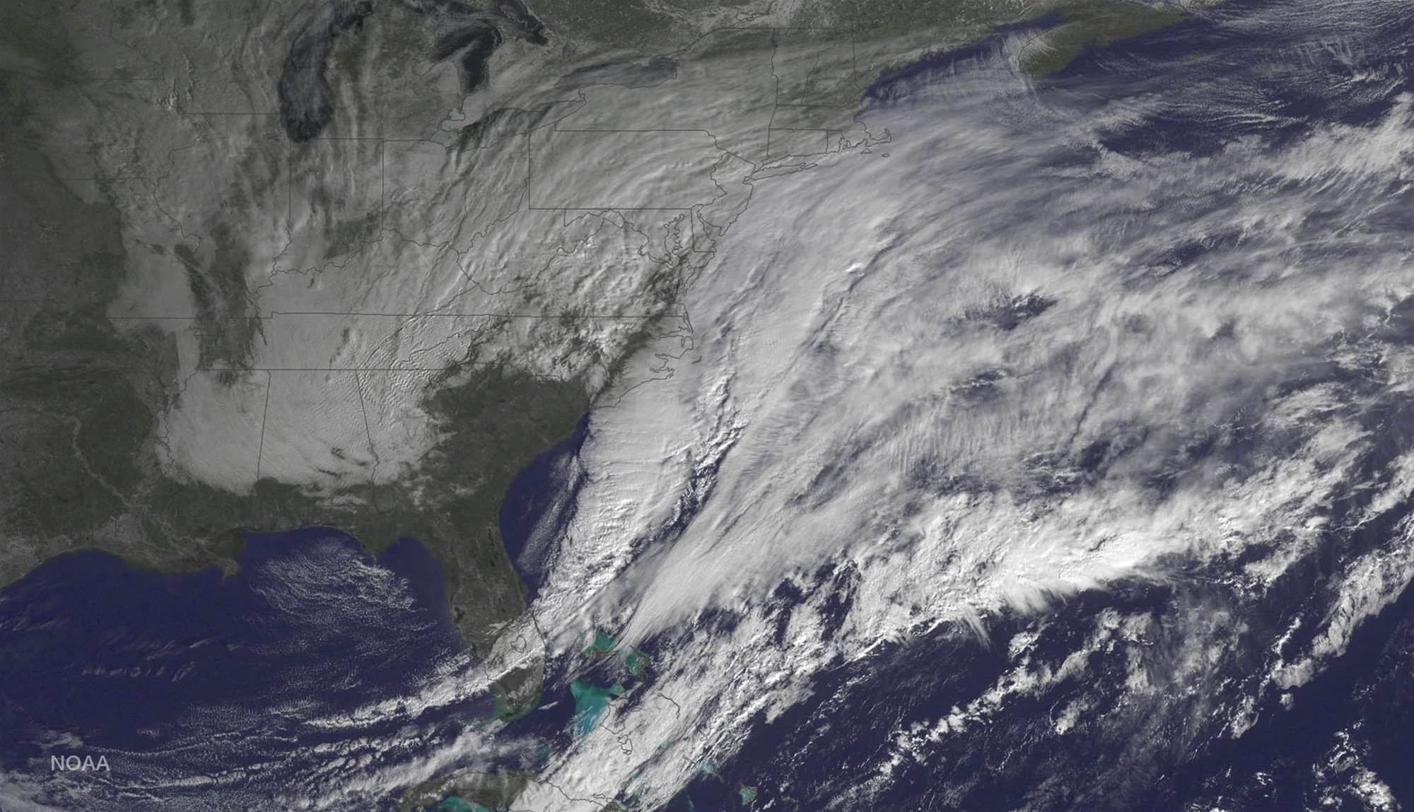 This Is What The US Blizzard Of 2015 Looks Like From A Satellite