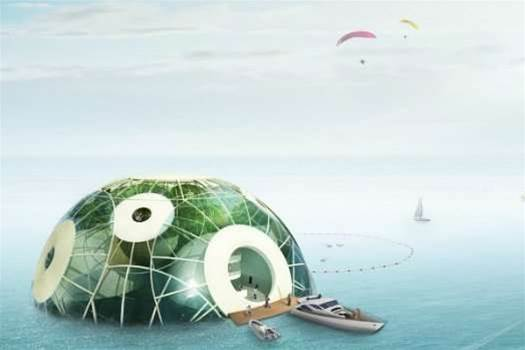 In The Future We Will All Live In Photosynthetic French Sea Pods