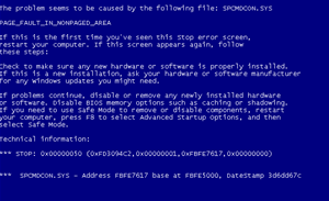 RDP proof of concept triggers blue screen of death