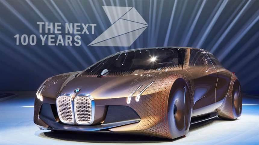 This is what BMW thinks cars will look like in 2116