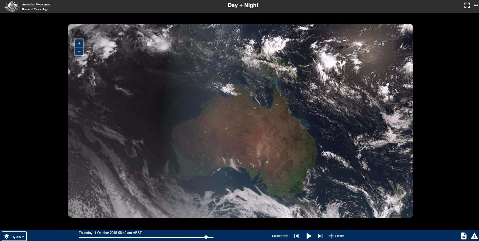 'Game-changer' satellite gives Aussies near-real time weather data