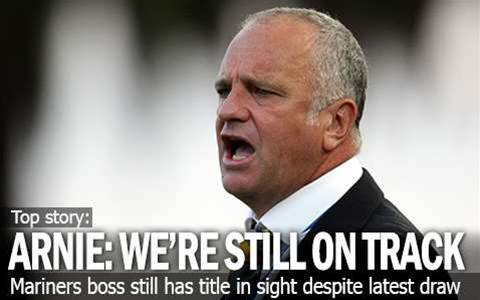 Graham Arnold: We're Still On Track