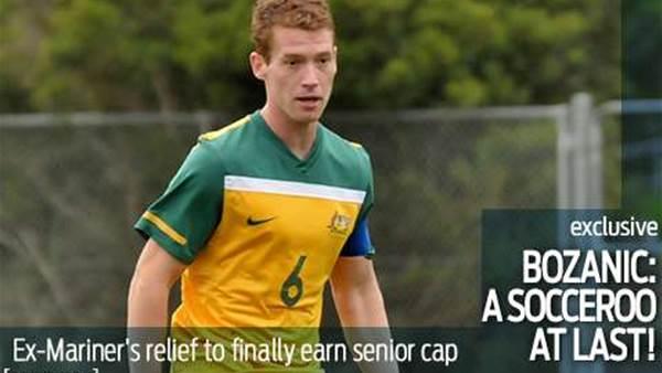 Bozanic: A Socceroo at last...!