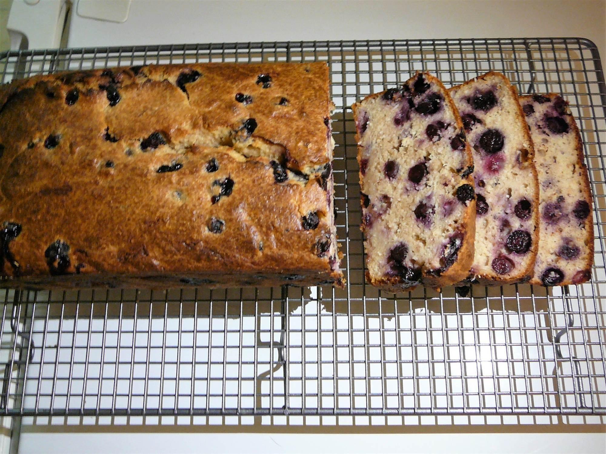 RECIPE: Blueberry, coconut, lemon and ginger loaf