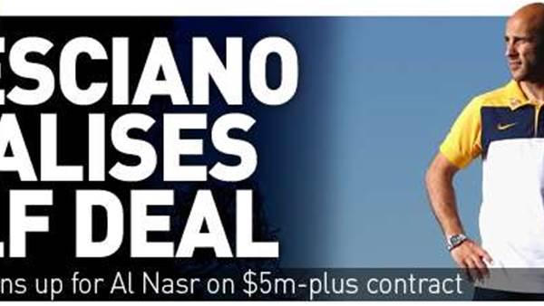 Bresciano Gulf Deal Done