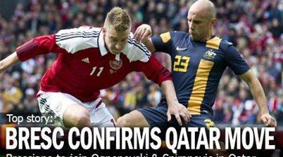 Bresciano Confirms Qatari Switch