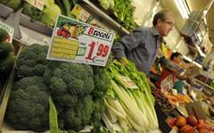 Video cameras and broccoli: the supermarket of the future