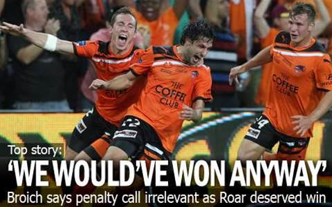 Broich: We Would've Won Anyway