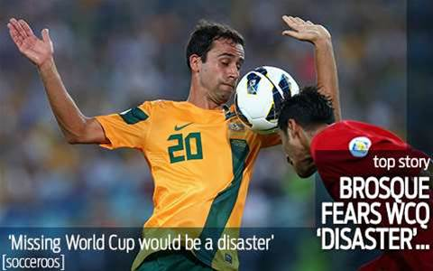 World Cup absence would be a 'disaster'