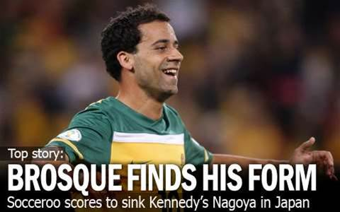 Brosque Finds Form At Right Time