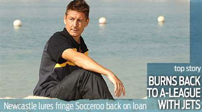 Nathan Burns back to the A-League