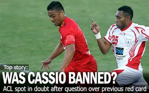 Was Cassio Banned In Asia Last Night?