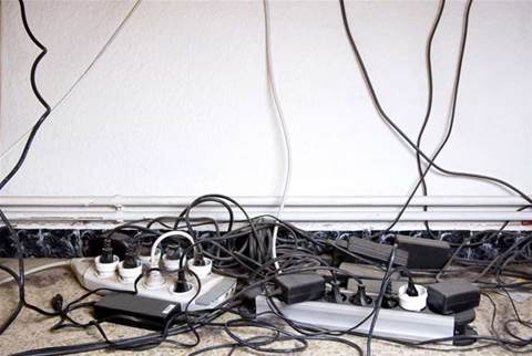 How to get that bird's nest of office cables under control