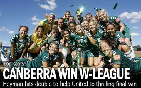 Canberra Crowned W-League Champions
