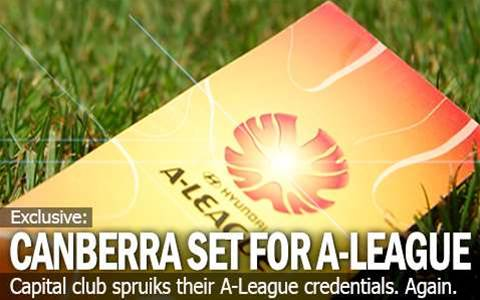 Canberra Ready For A-League