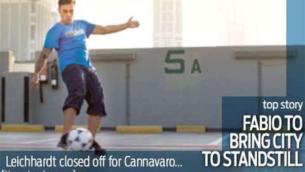 Fabio Cannavaro to bring Sydney to a standstill