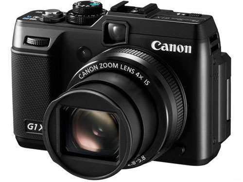 Canon announces PowerShot G1 X and new Ixus models at CES