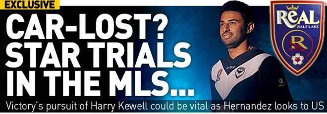 Car-lost? Hernandez Trials In MLS
