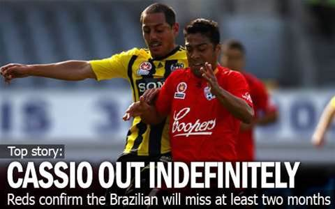 Cassio Out Indefinitely For Reds
