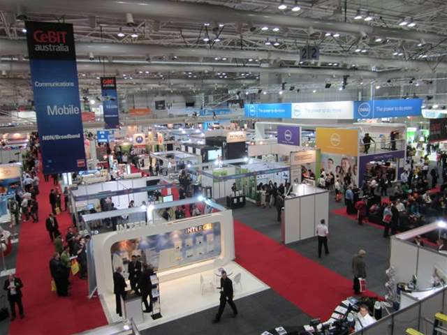 Can anyone actually get in to CeBit 2012?