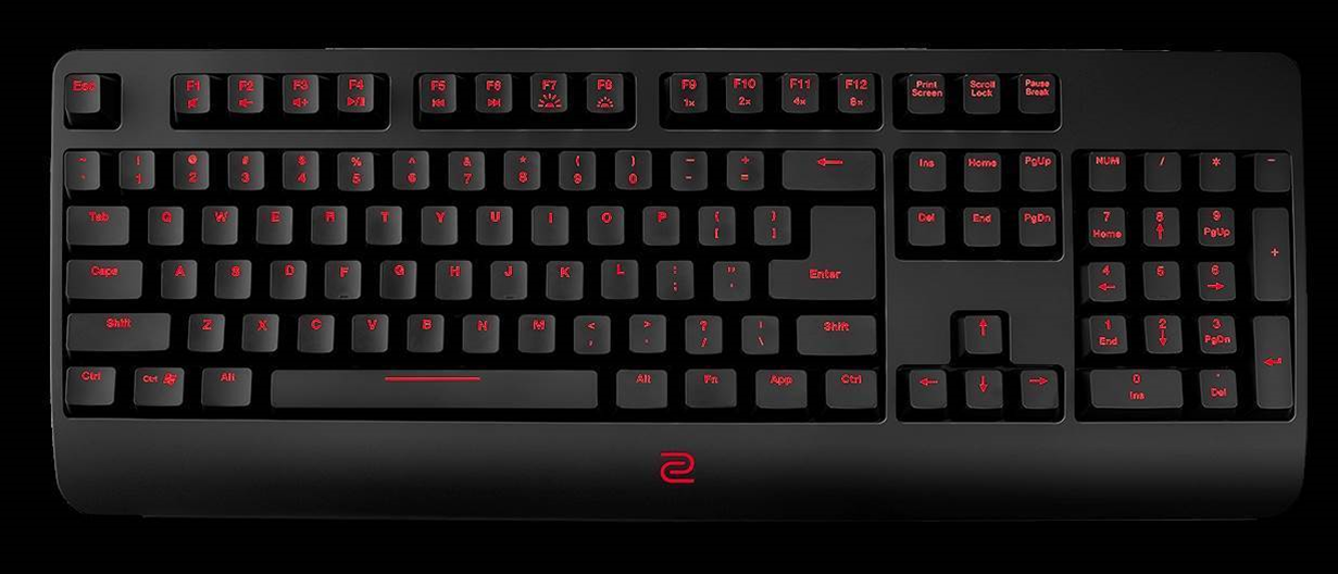 BenQ's new ZOWIE Celeritas II keyboard is aimed at pros