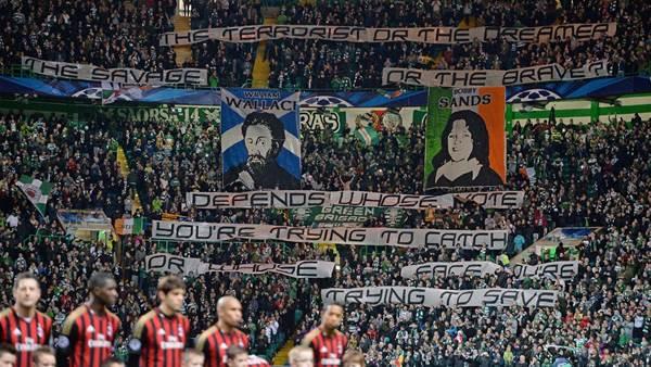 Celtic face UEFA action over illicit banner