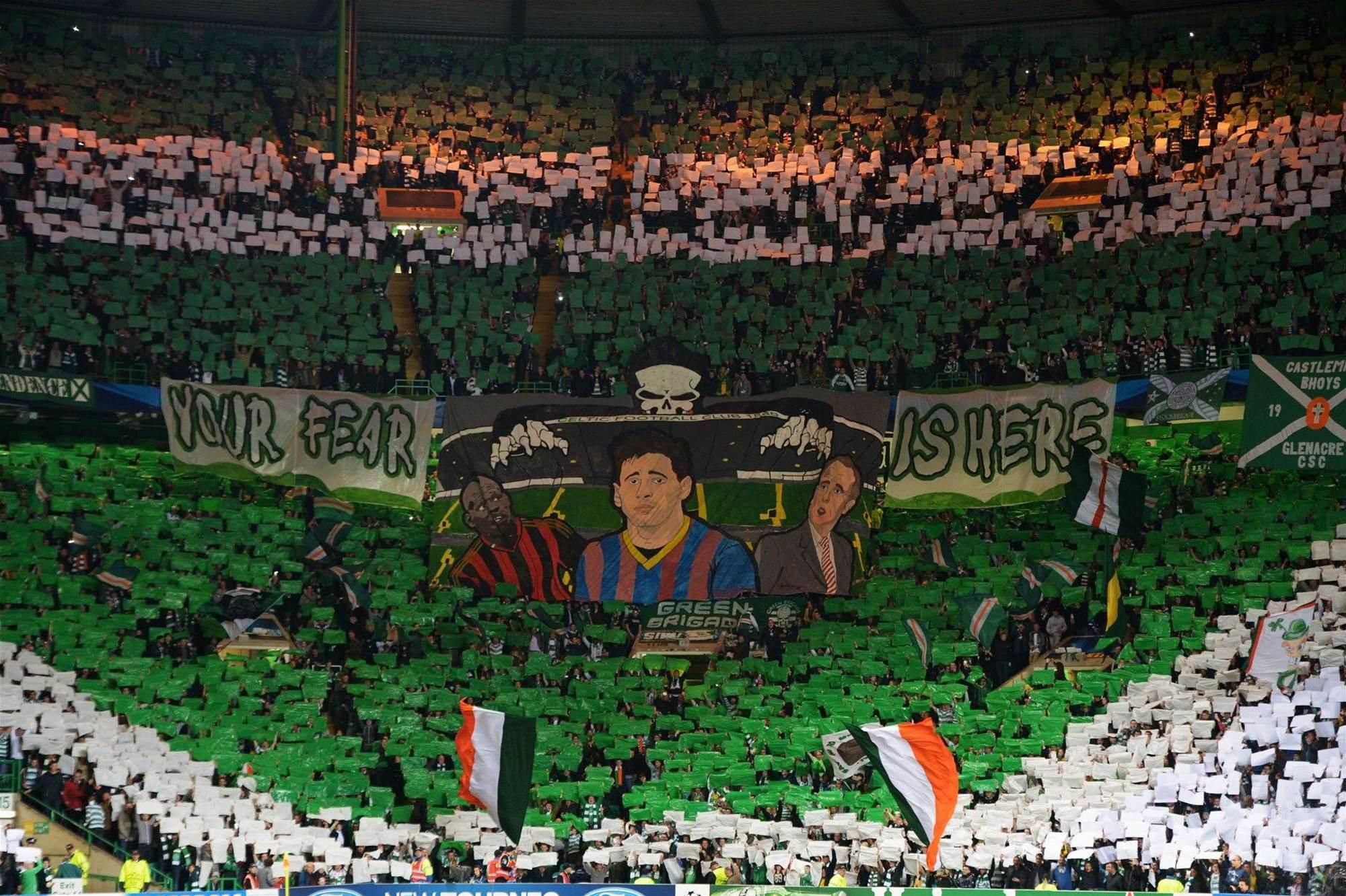 Celtic ban 128 fans after crowd trouble