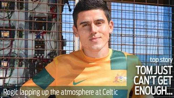 Rogic just can't get enough of Celtic fans