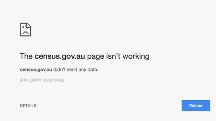 ABS claims a DDOS attack took down the census