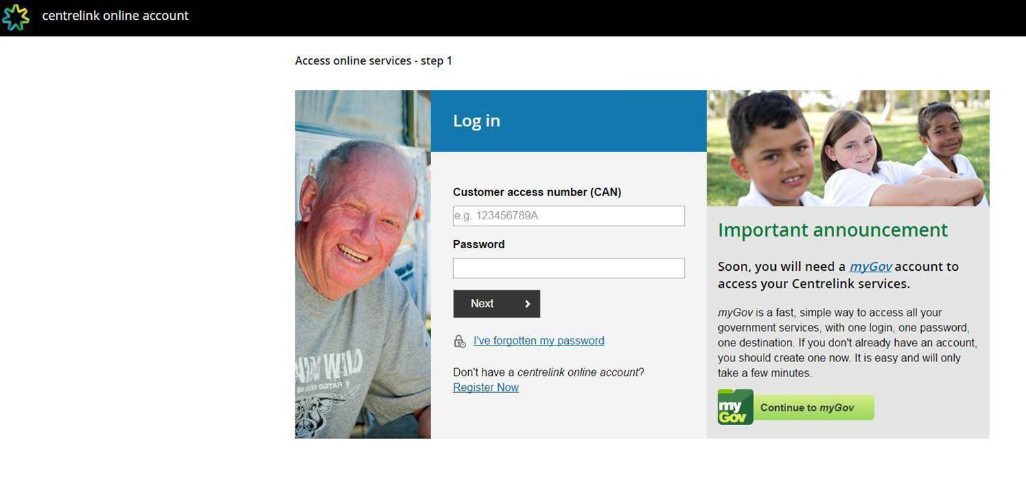 Centrelink website flaw leaves users vulnerable