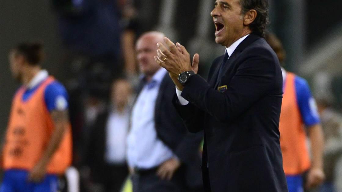 Prandelli: I never lost hope against the Czechs