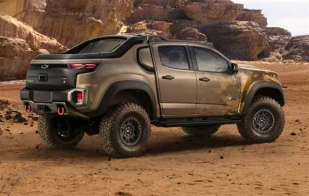 Chevrolet is making a hydrogen-powered truck for the US Army