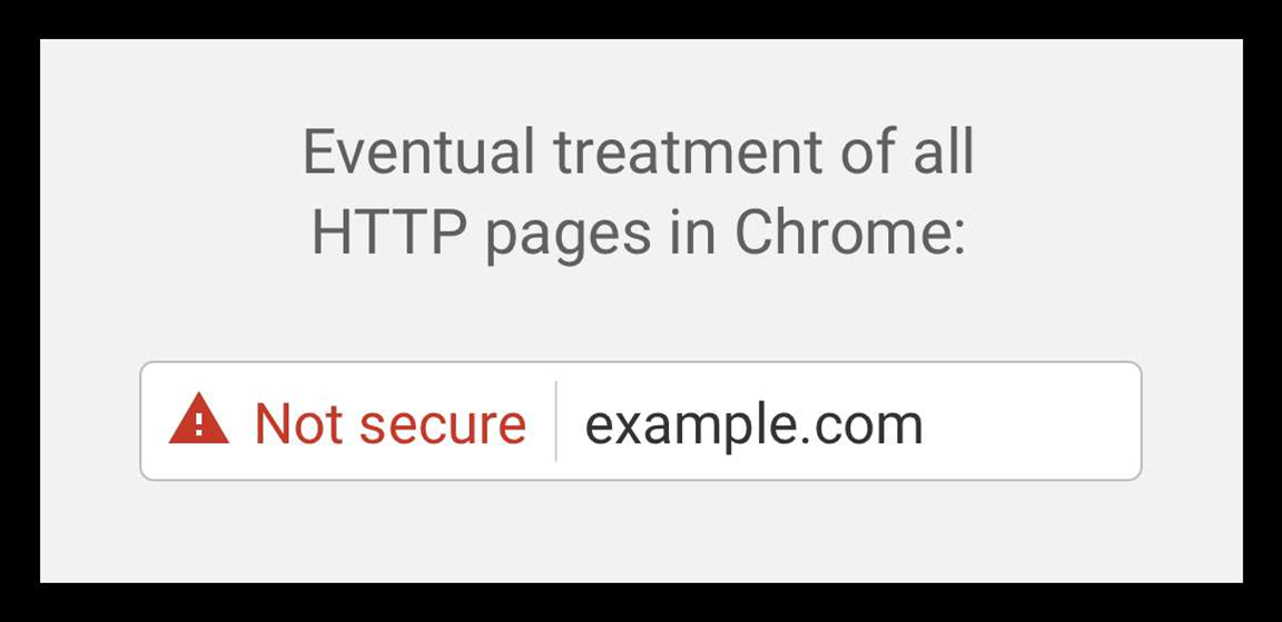 Chrome to start shaming HTTP sites