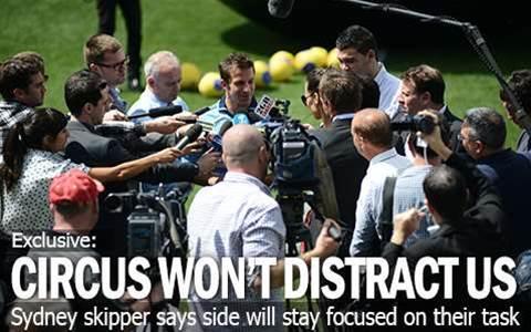'Del Piero Circus Won't Distract Us'